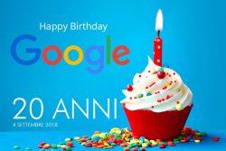 Google compie venti anni e sono anche 20 le cose da sapere