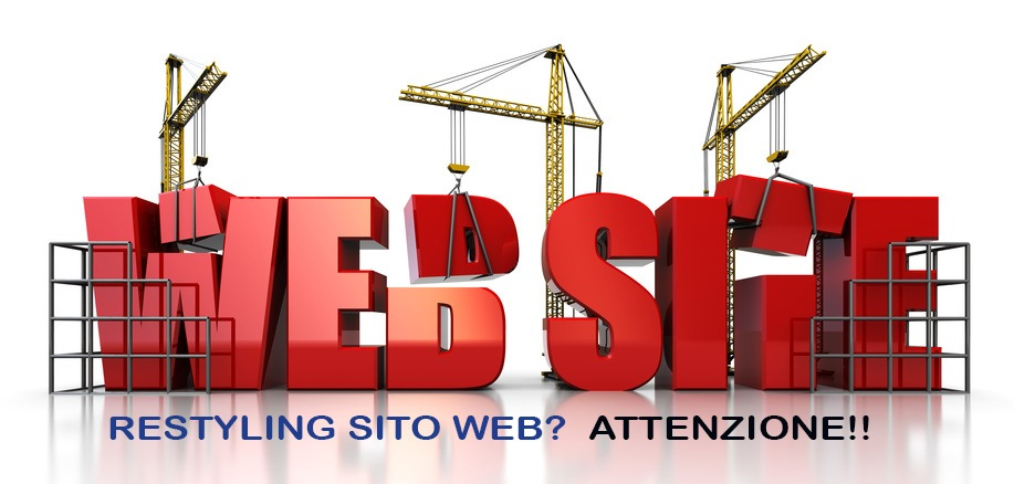 Restyling Sito Web